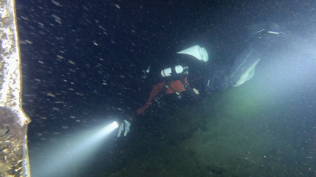 Vobster Night Dive 4
