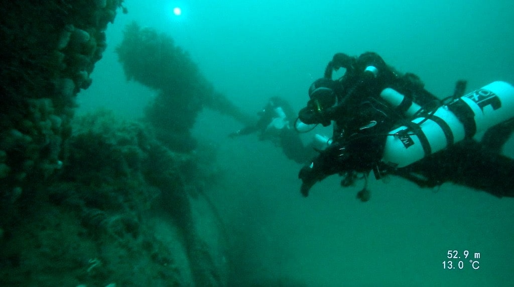 Divers Underwater 1