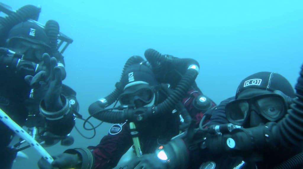 Divers Underwater 2
