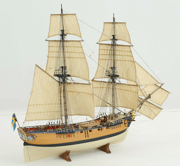 Model of a Snow Brig